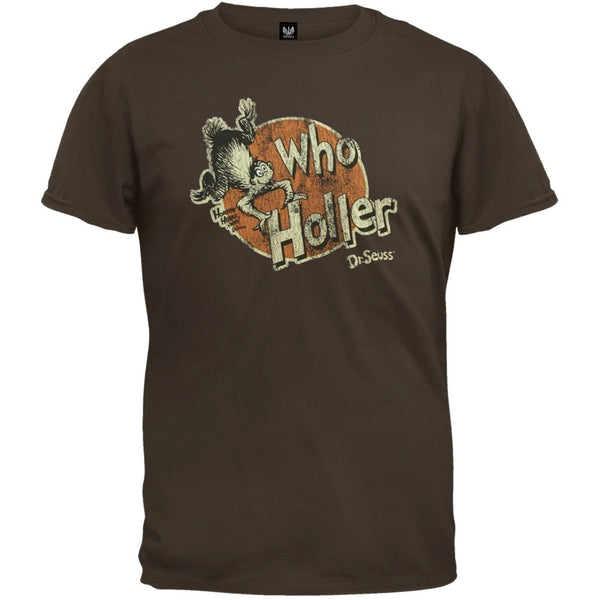 Dr. Seuss - Who Holler T-Shirt