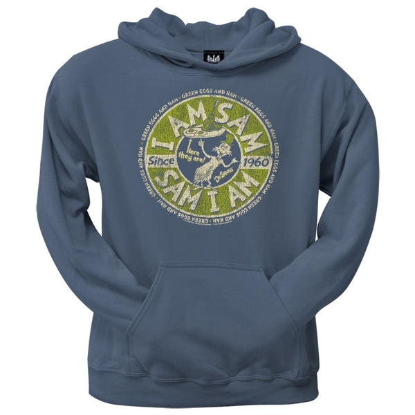 Dr. Seuss - Sam I Am Green Eggs and Ham Circle Hoodie