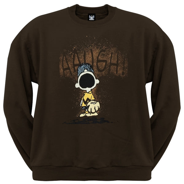 Peanuts - Augh Band Crew Neck Sweatshirt