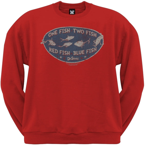 Dr. Seuss - Catch Of The Day Crew Neck Sweatshirt