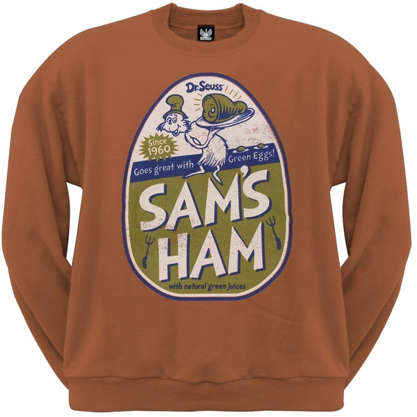 Dr. Seuss - Sam's Ham Crew Neck Sweatshirt