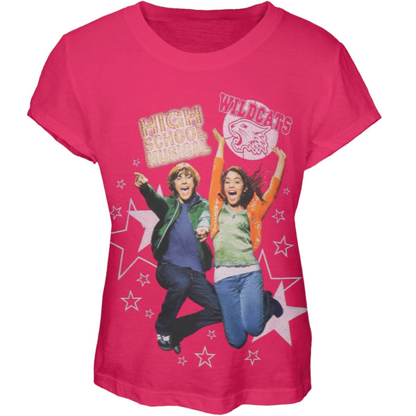 High School Musical - Wildcats Jump Girl's T-Shirt