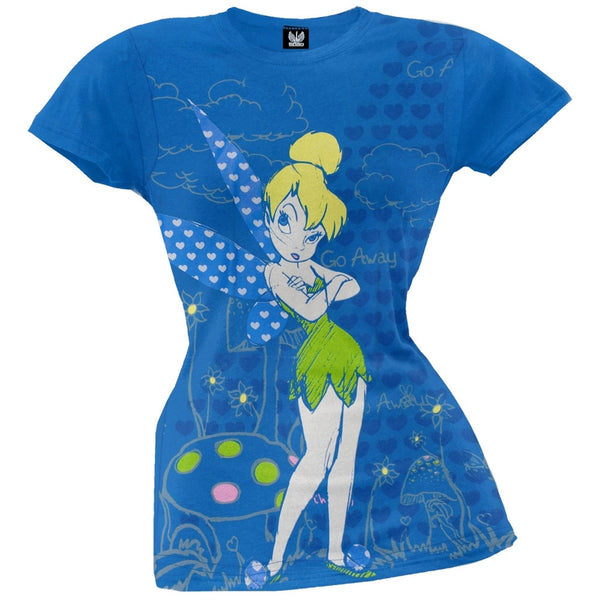 Tinkerbell - Go Away Juniors T-Shirt
