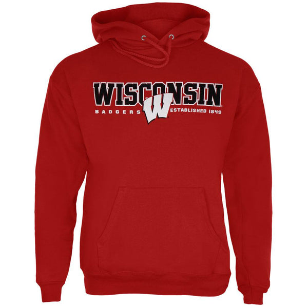 Wisconsin State Pullover Hoodie