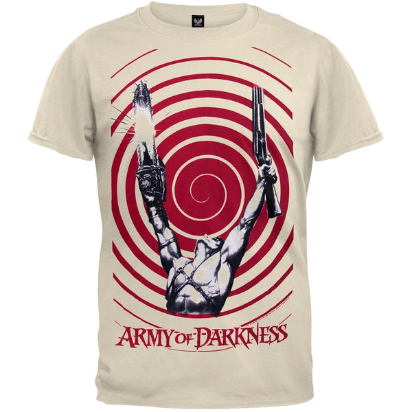 Army of Darkness - Muscle Pose Swirl T-Shirt