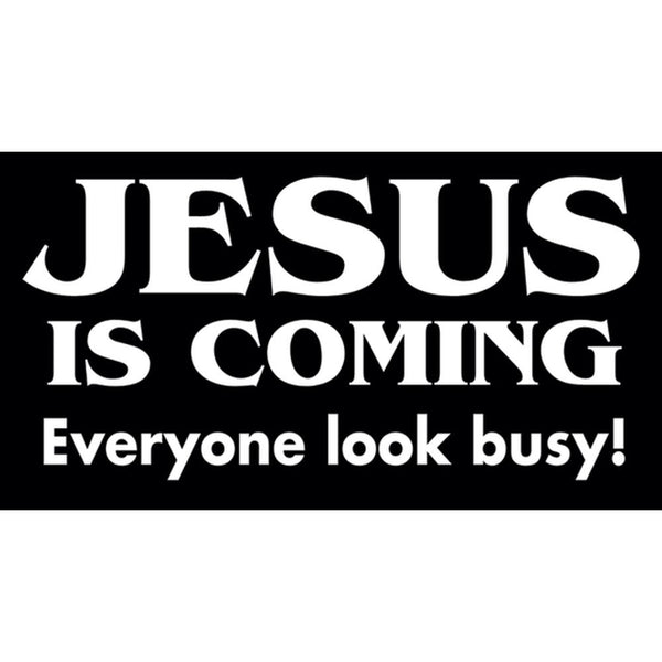 Jesus Is Coming     Decal