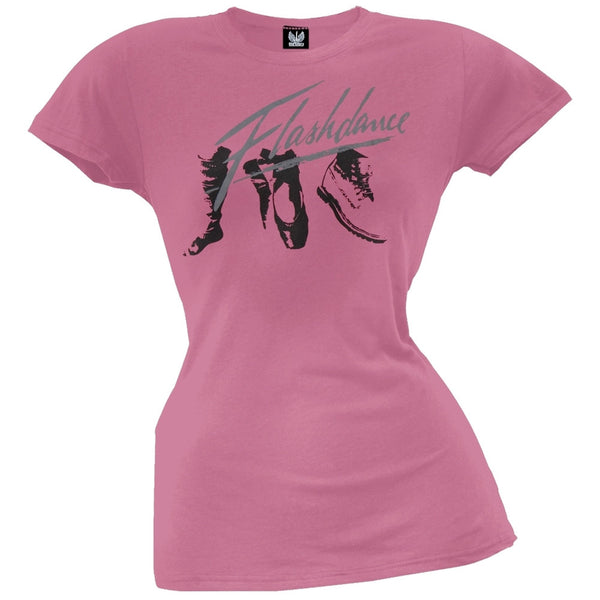 Flashdance - Feet Juniors T-Shirt