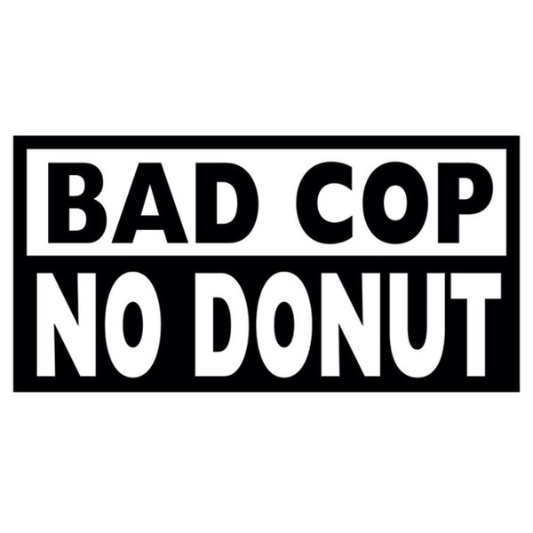Bad Cop Decal