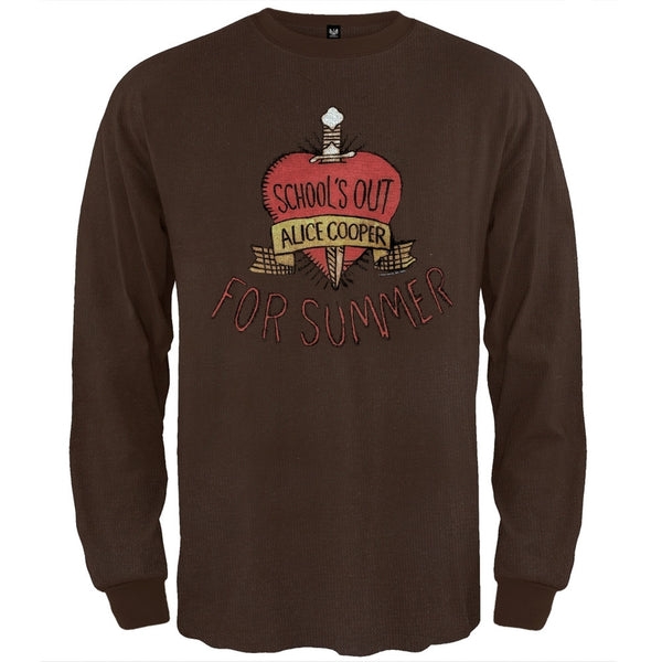 Alice Cooper - School's Out Long Sleeve Thermal