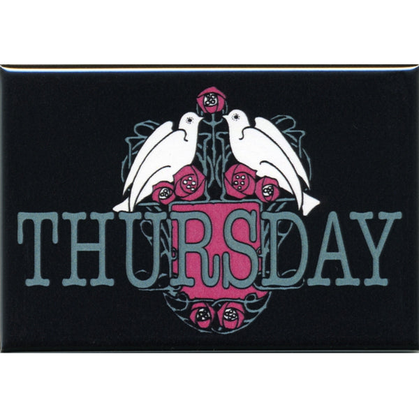 Thursday - Logo Magnet