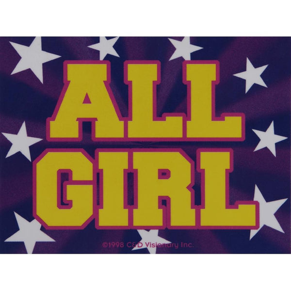 All Girl Decal