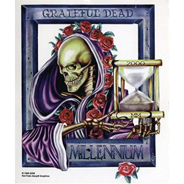 Grateful Dead - Bertha Millenium Decal