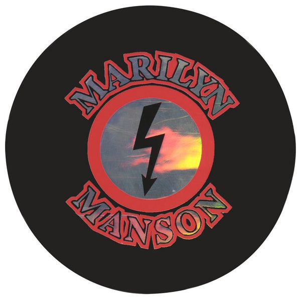 Marilyn Manson - Reflective Logo Decal