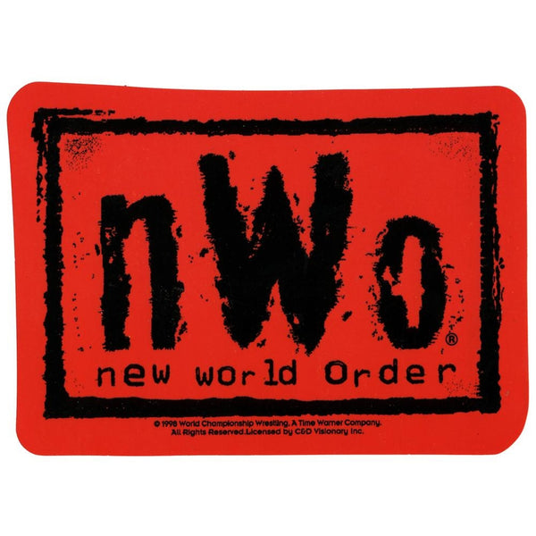 New World Order - Red Logo Decal