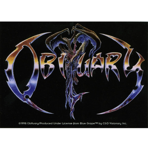 Obituary - Logo Decal