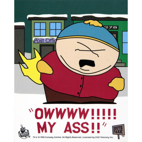 South Park - OWW! My Ass Decal