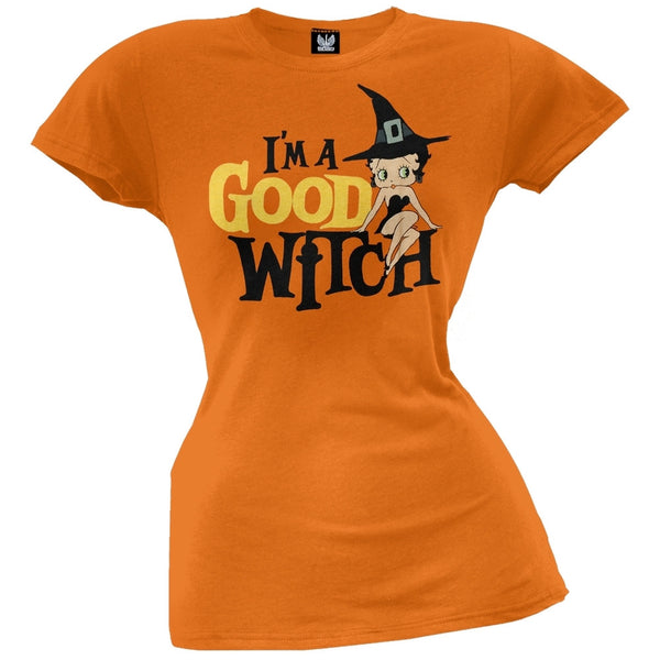 Betty Boop - Good Witch Juniors T-Shirt