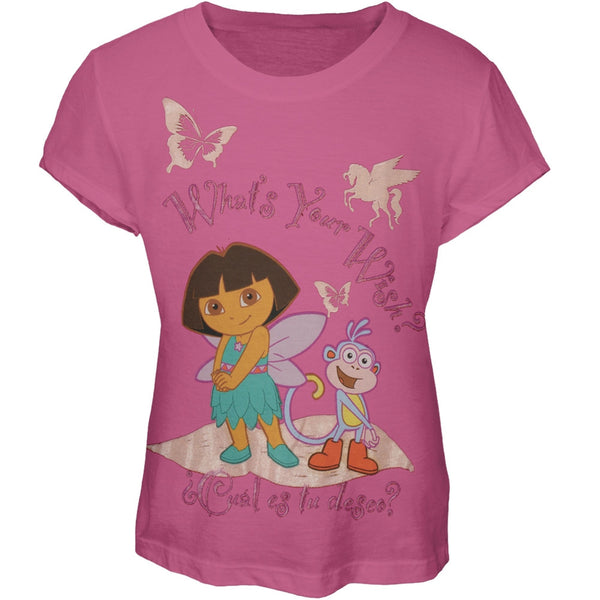 Dora the Explorer - What's Your Wish? Girl's T-Shirt