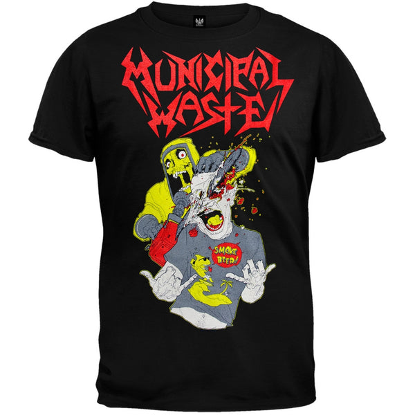 Municipal Waste - Smoke Beer T-Shirt