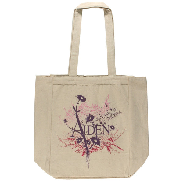 Aiden - Flowers Tote