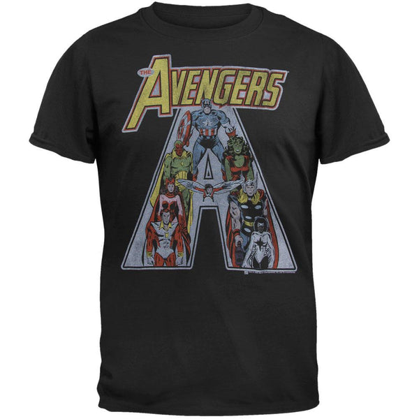 The Avengers - Vintage Team Soft T-Shirt