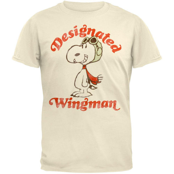 Peanuts - Designated Wingman Soft T-Shirt