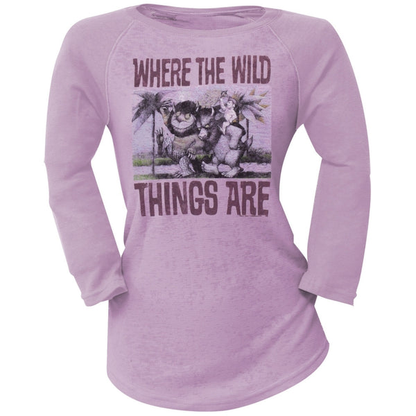 Where The Wild Things Are - Book Cover Juniors Thermal