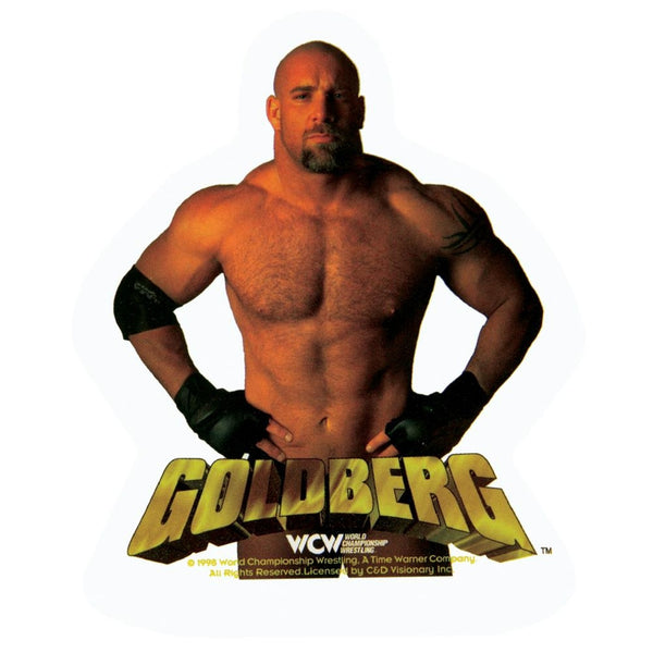 WCW - Goldberg Photo Decal