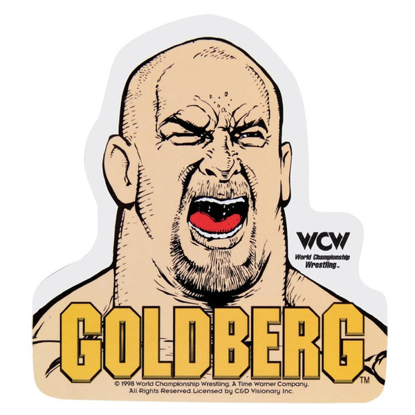 WCW - Goldberg Cartoon Decal