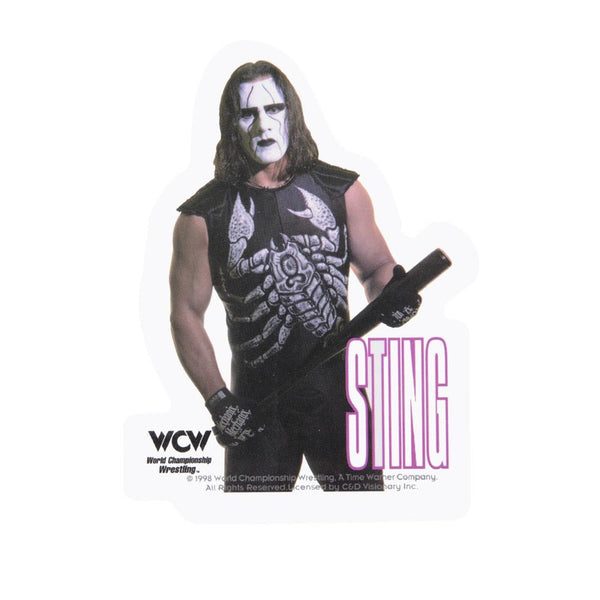 WCW - Sting Photo Decal