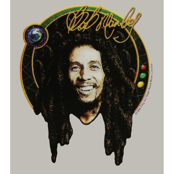 Bob Marley - Signature Photo Clear Decal