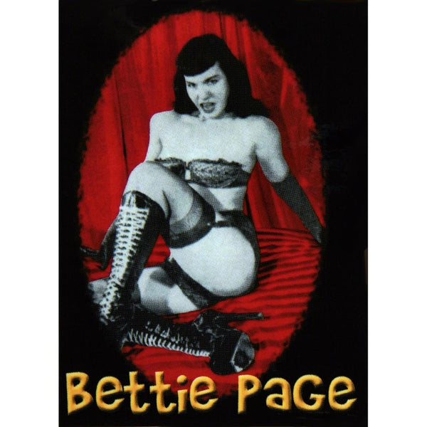 Bettie Page - Playful Pose Decal
