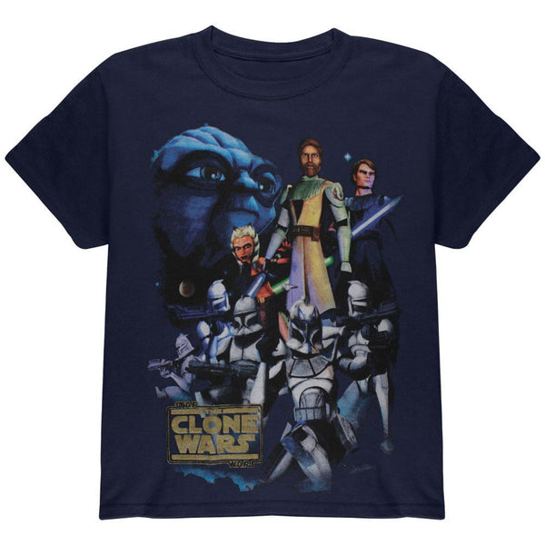 Star Wars - Clone Wars Cast Juvy T-Shirt