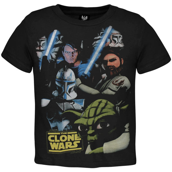 Star Wars - Clone Wars Faces Juvy T-Shirt