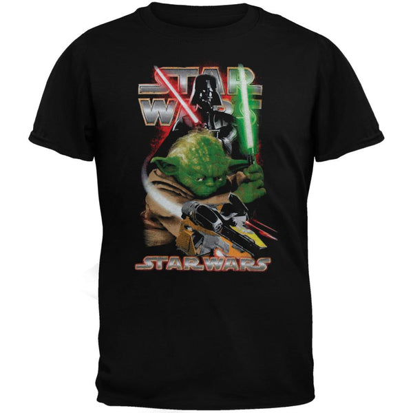 Star Wars - Vader & Yoda Glow in the Dark Juvy T-Shirt