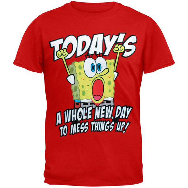 Spongebob Squarepants - New Day Youth T-Shirt