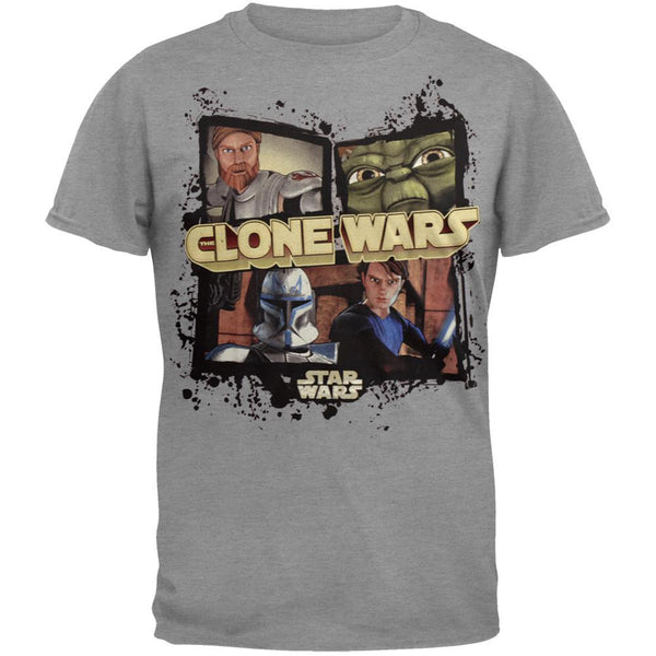 Star Wars - Clone Wars Frames Youth T-Shirt
