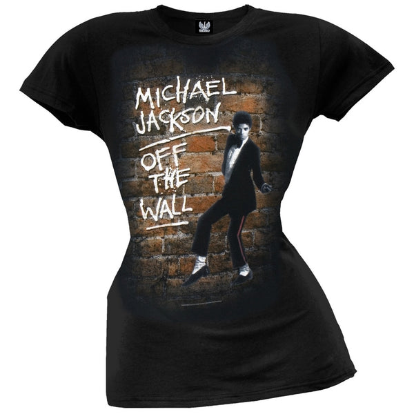 Michael Jackson - Off The Wall Juniors T-Shirt