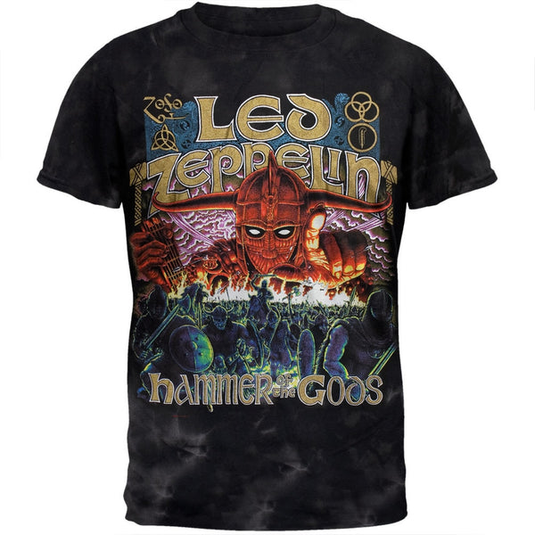 Led Zeppelin - Hammer Of The Gods Adult T-Shirt - front view
