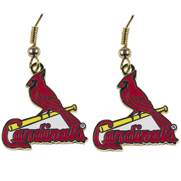 St Louis Cardinals - Logo Earrings