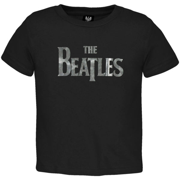 The Beatles - Foil Logo Black Infant T-Shirt