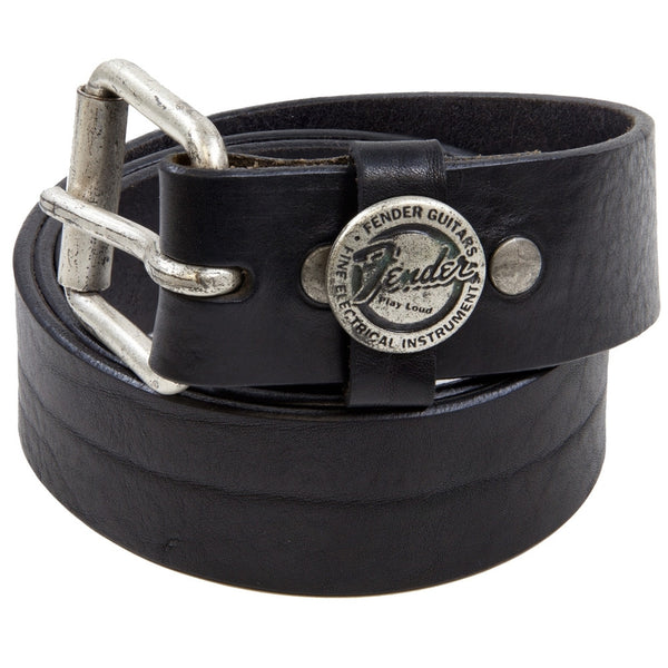 Fender - Round Logo - Leather Belt