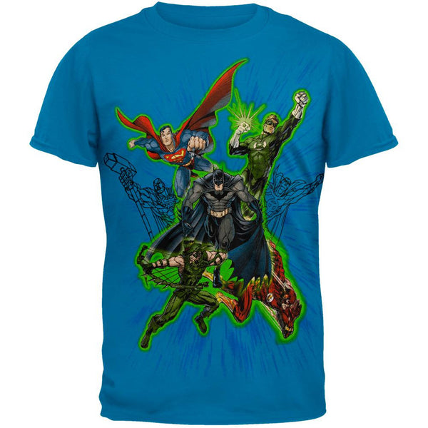 DC Comics - Flying Heroes T-Shirt
