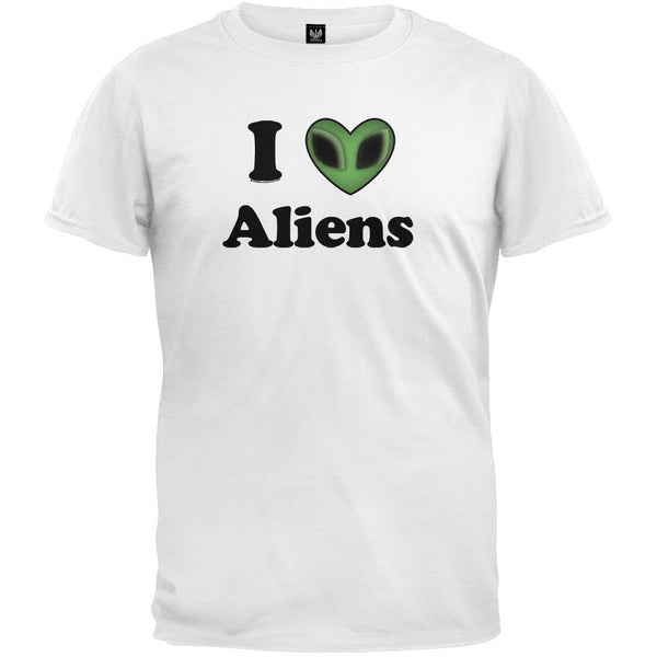 I Heart Aliens T-Shirt