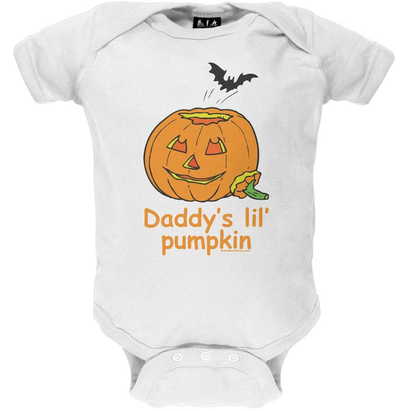 Halloween Daddy's Lil' Pumpkin Baby One Piece