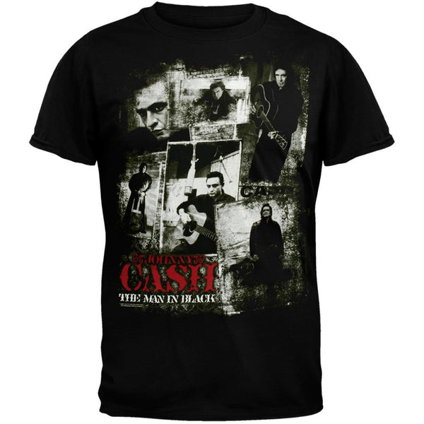 Johnny Cash - Classic Photos T-Shirt