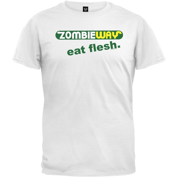 Zombie Way Eat Flesh T-Shirt