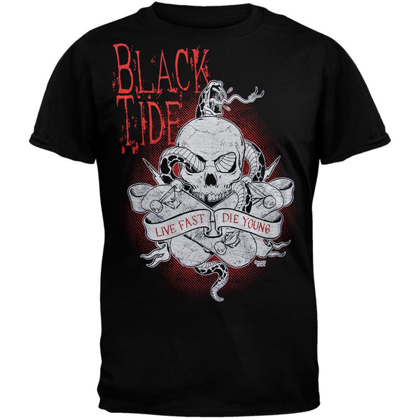 Black Tide - Live Fast Die Young T-Shirt