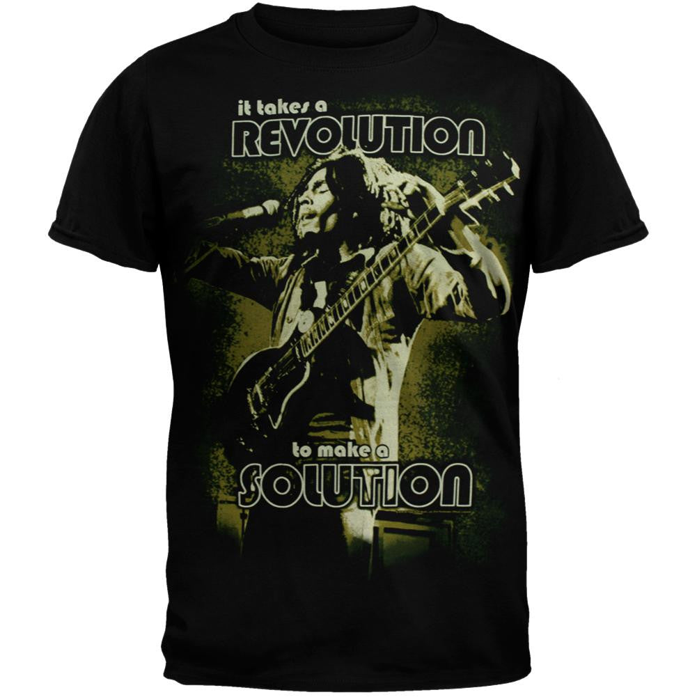 8d783fe4db517f Bob Marley - Solution Jumbo Soft T-Shirt – OldGlory.com