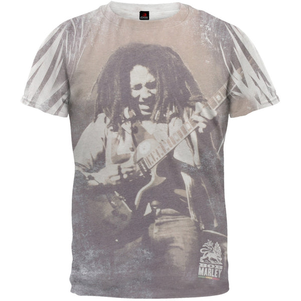 Bob Marley - Guitar All Over Soft T-Shirt